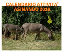 Calendario attività 2018