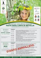 Festa della linfa di Betulla. 7 e 14 aprile '19